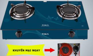 Bếp gas dương hồng ngoại Taka HG6