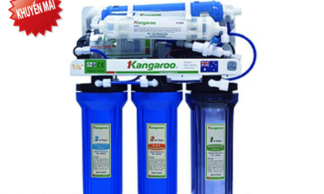 Máy lọc nước Kangaroo 9 lõi không vỏ tủ KG109